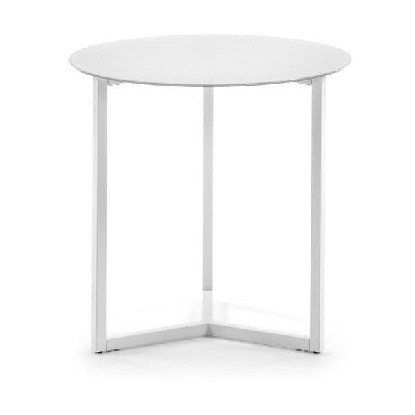 Marae fehér tárolóasztal, ⌀ 50 cm - La Forma