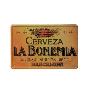 Cedule La Bohemia, 20x30 cm