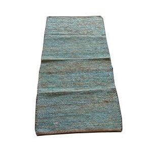 Koberec Jute 65x135 cm, modrý