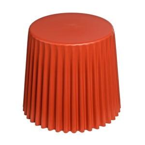 Oranžový stolek D2 Cork