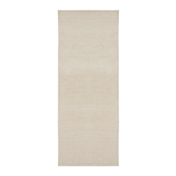 Covor Mint Rugs Shine, 80 x 250 cm, crem deschis