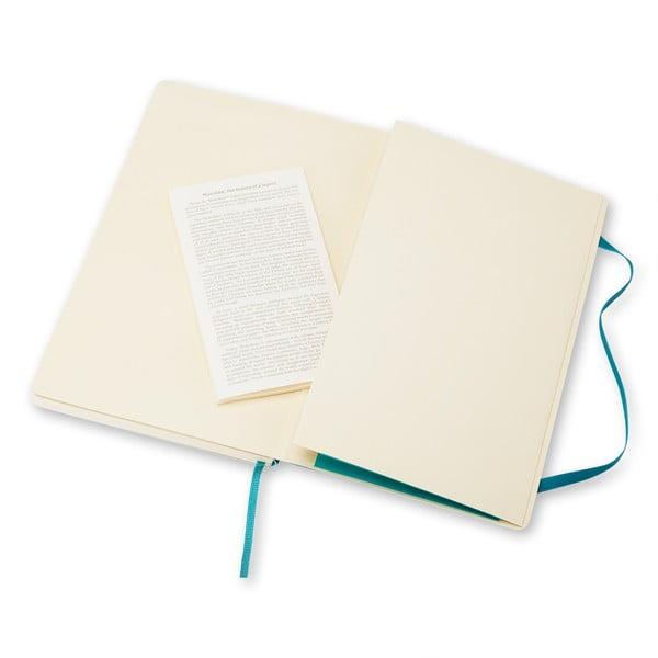 Zápisník Moleskine Soft 13x21 cm, modrý