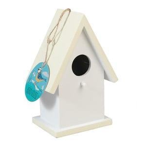 Krémová dřevěná ptačí budka Rex London Faros