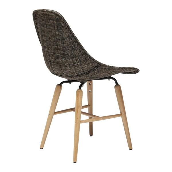 Set 4 scaune Kare Design Forum Wood, maro