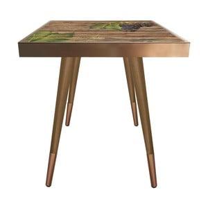 Příruční stolek Caresso Grape Square, 45 x 45 cm