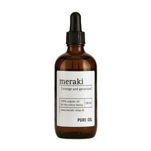 Ulei organic Meraki Orange and Geranium, 100 ml