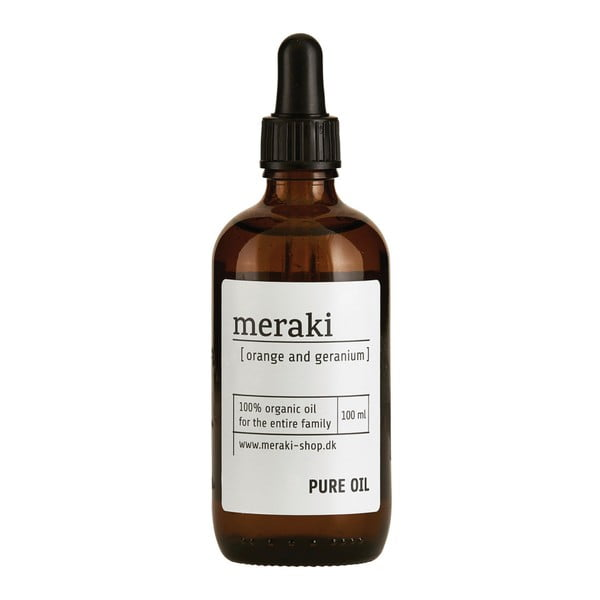 Olejek organiczny Meraki Orange and Geranium, 100 ml