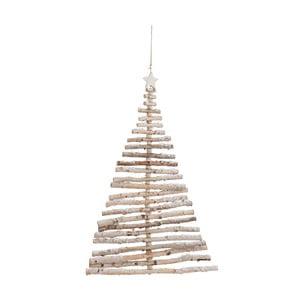 Závěsná dřevěná dekorace J-Line Tree