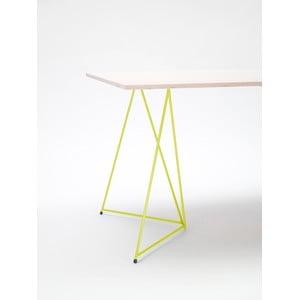 Podnož ke stolu Diamond Yellow, 70x55 cm