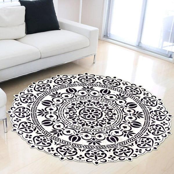 Odolný koberec Vitaus Pandamo, ⌀ 80 cm