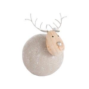 Vánoční dekorace J-Line Reindeer Ball