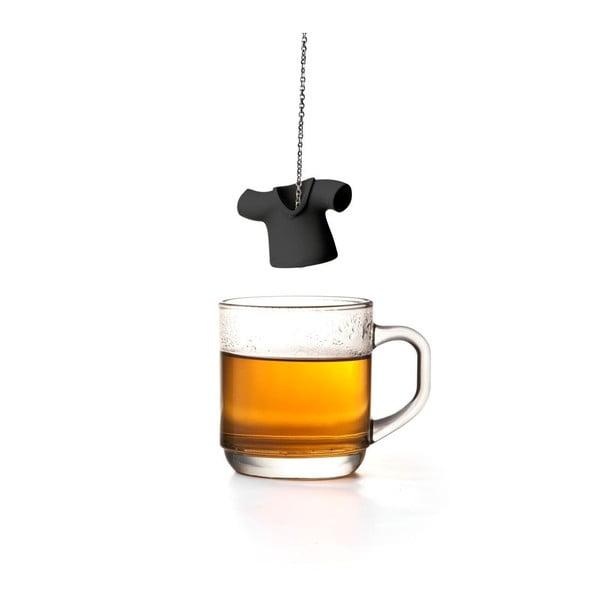 Czarne sitko do herbaty Qualy&CO Tea Shirt