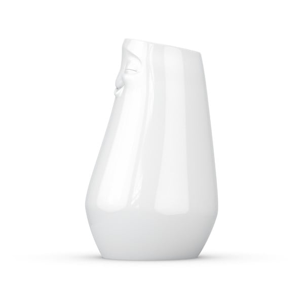 Vază din porțelan, satisfăcut, 58products, alb
