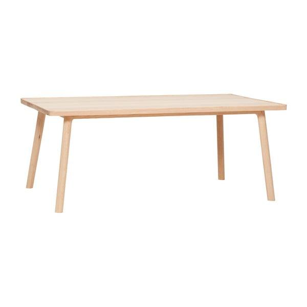 Stolik z drewna dębowego Hübsch Eluf