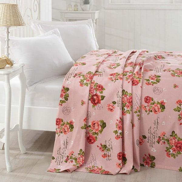 Přehoz přes postel Grete Pink, 200x235cm