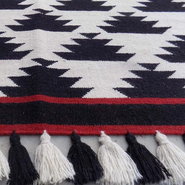 Vlněný koberec Kilim Modern 26, 120x180