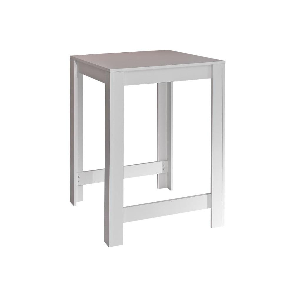 Bílý jídelní stůl Symbiosis Sulens, šířka 70 cm