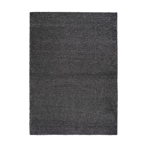 Catay antracitszürke szőnyeg, 125x67 cm - Universal