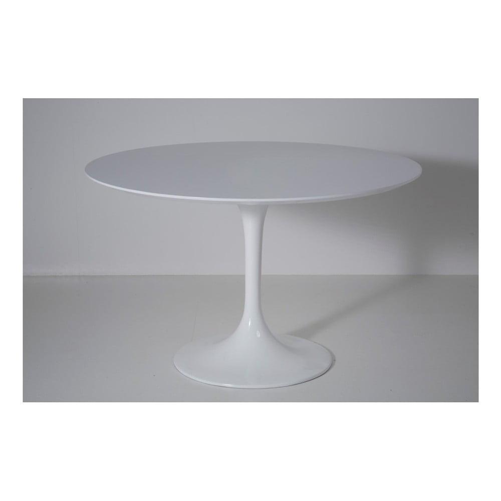 Bílý jídelní stůl Kare Design Invitation, Ø120cm