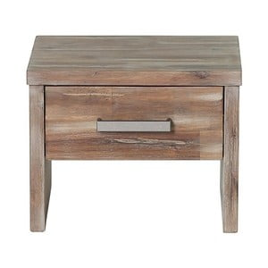 Noční stolek  z akáciového dřeva Woodking Albus II.