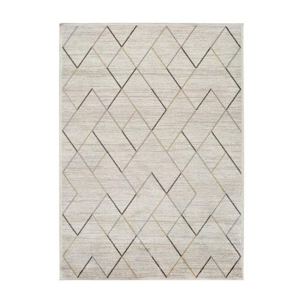 Belga krémszínű viszkóz szőnyeg, 70 x 110 cm - Universal