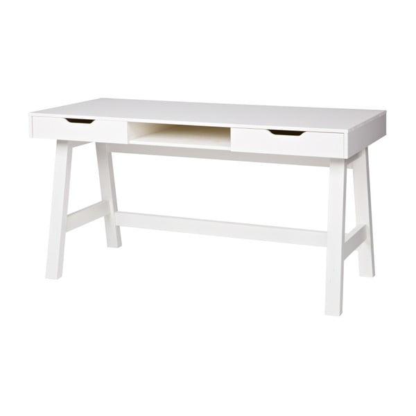 Nikki fehér íróasztal - WOOOD