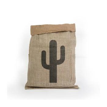 Coş depozitare din hârtie reciclată Surdic Yute Cactus
