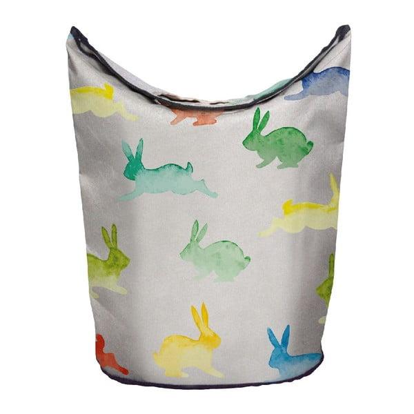 Koš na prádlo Watercolour Rabbits