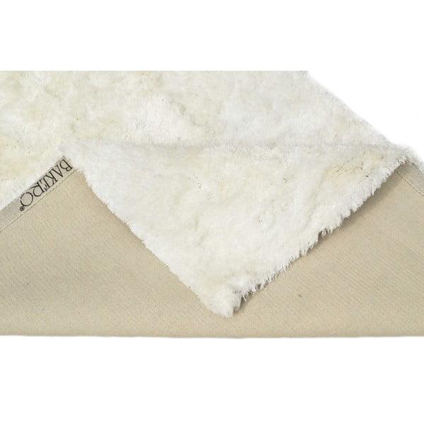 Ručně tuftovaný koberec Feeling Snow, 80x150cm