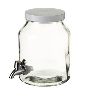 Recipient din sticlă cu robinet Unimasa, 3,4 L imagine