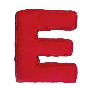 Látkový polštář E, červený
