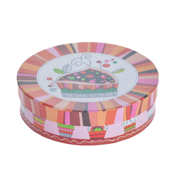 Sada 4 porcelánových talířů Košíčky