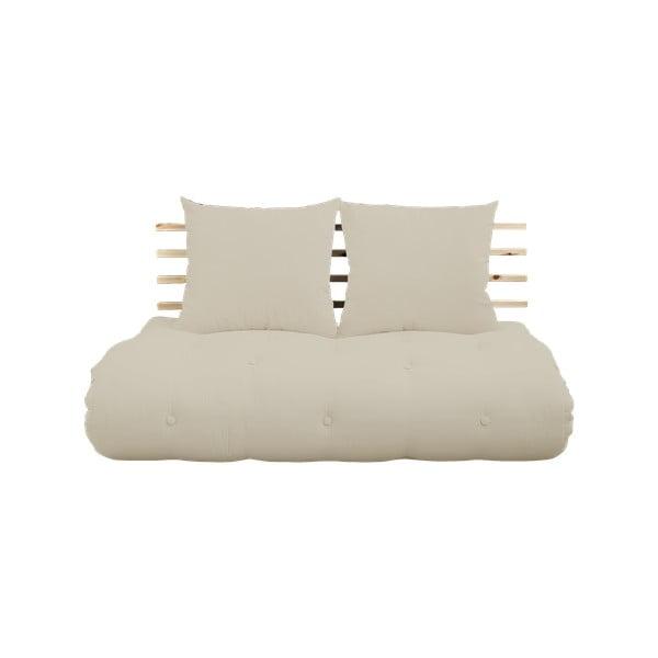 Shin Sano Natural Clear/Beige kinyitható kanapé - Karup Design