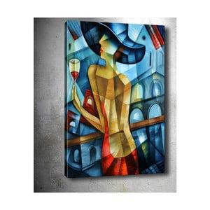 Obraz Tablo Center Cubistic Lady, 50 x 70 cm