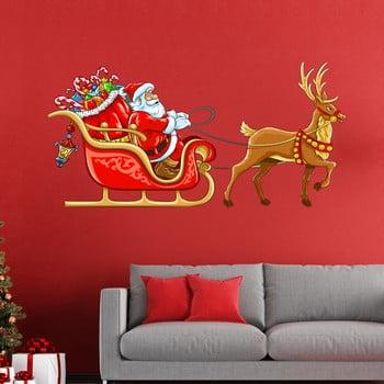 Autocolante Crăciun Ambiance Sur Son Traineau de la Ambiance
