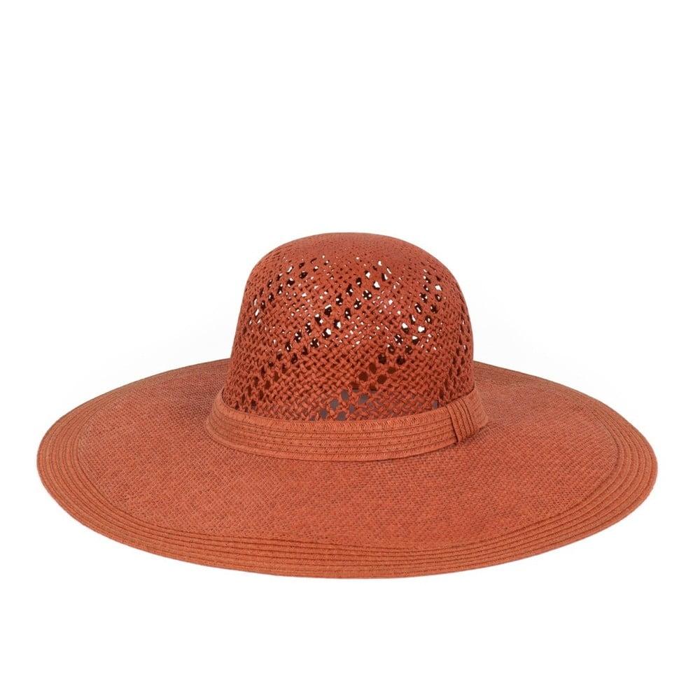 Červený klobouk Art of Polo Ginger