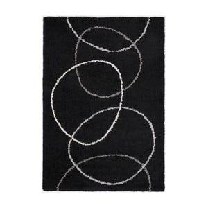 Černý koberec Calista Rugs Sydney Night, 120x170cm