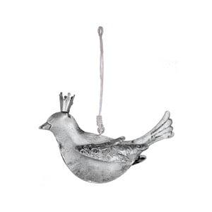 Závěsná kovová ozdoba ve tvaru ptáčka Ego dekor