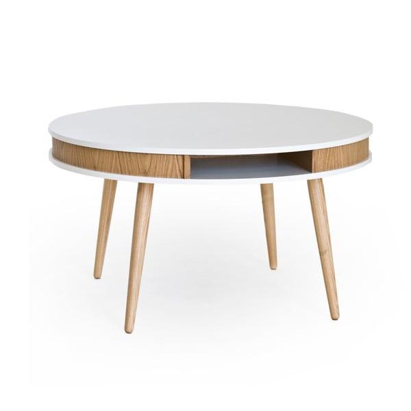 Konferenční stolek Hugo 90 cm, dub