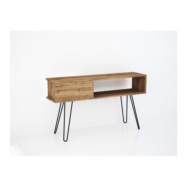 Hnědý TV stolek Lara