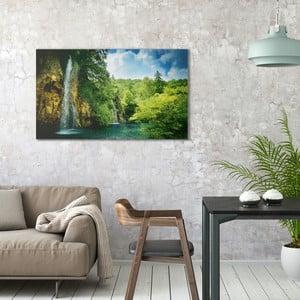 Obraz na plátně OrangeWallz Jungle, 70 x 118 cm