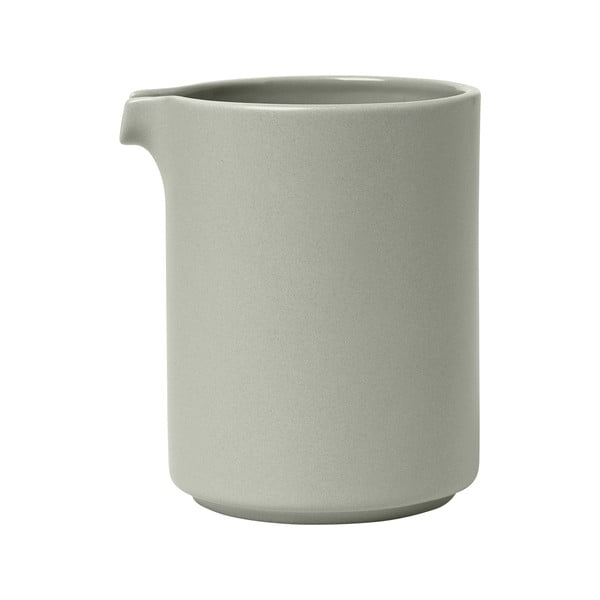 Jasnoszary ceramiczny mlecznika Blomus Pilar, 280 ml