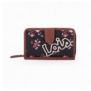 Peněženka Lois Roses, 14x9 cm