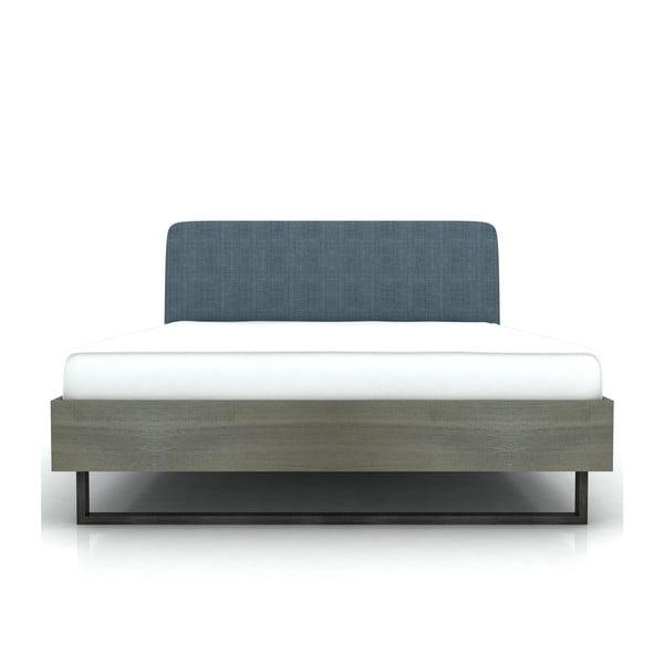 Jednolôžková posteľ z akáciového dreva Livin Hill Flow, 149 x 217 cm