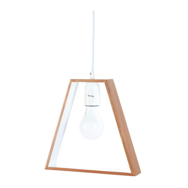 Lampa wisząca z drewna grabu Masivworks Bella
