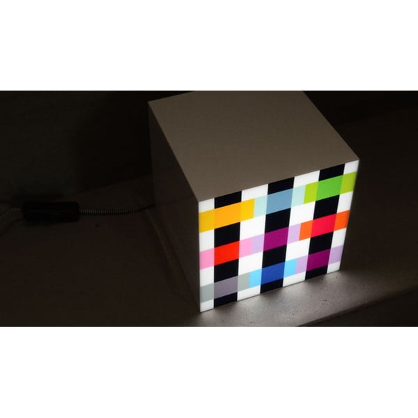 Lampička Remember Cube Light Colour Caro
