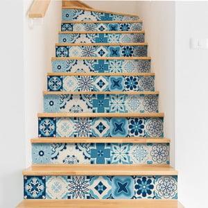Set 2 autocolante pentru scări Ambiance Stairs Stickers Unibelos, 15 x 105 cm