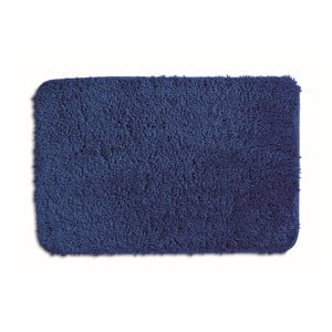 Modrá koupelnová podložka Kela Livana, 80x50cm