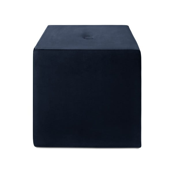 Tmavě modrý puf Mazzini Sofas Margaret, 40 x 45 cm