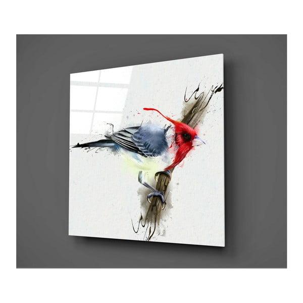 Sklenený obraz Insigne Minkie, 30 × 30 cm